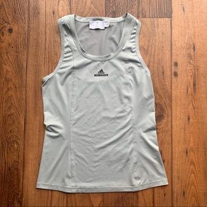 Stella McCartney Barricade Grey Tennis Tank Top